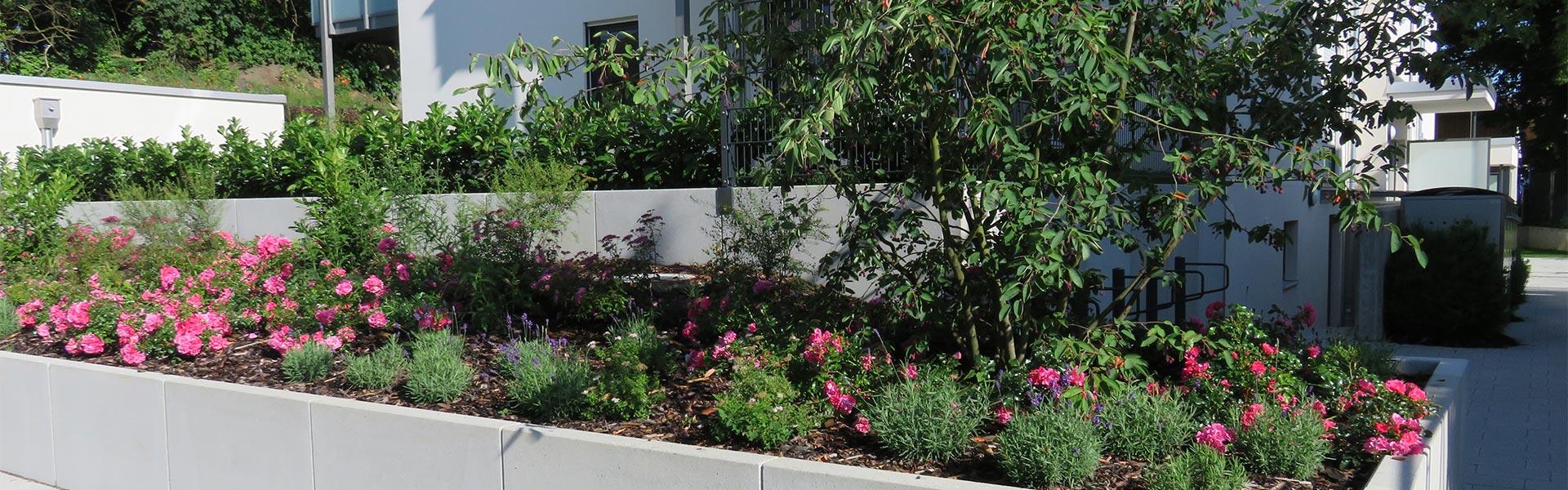 Gestaltung von Gärten und öffentlichen Plätzen