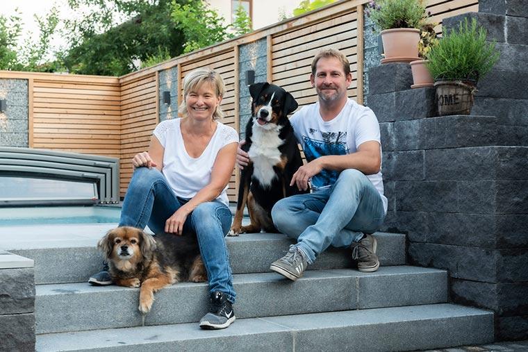 Familie Schlosser in Haag